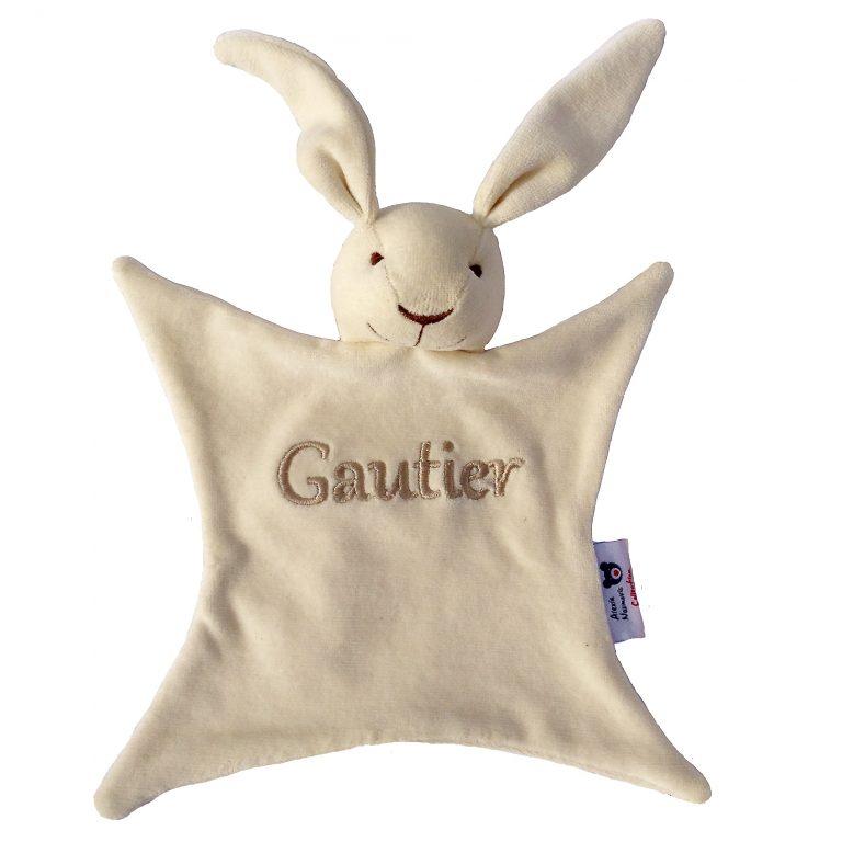 Doudou bio Gautier